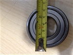 Hello William, the measurement refers to the internal measurement of the bearing shaft hole. edge to edge.  I have added a photo