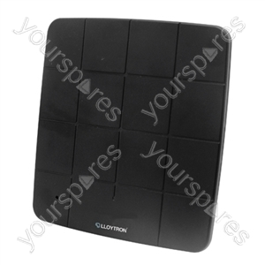 Active HD Indoor Panel TV Antenna - 50db - Black