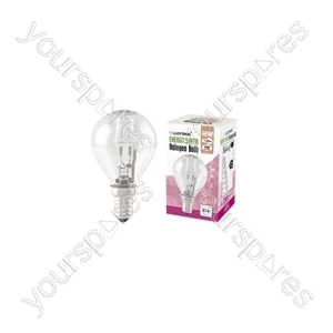 Golf Ball E14 18w 240v Halogen Incandescent Bulb