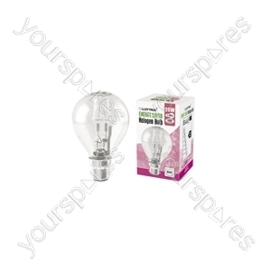 Golf Ball B22 28w 240v Halogen Incandescent Bulb