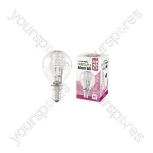 Golf Ball E14 28w 240v Halogen Incandescent Bulb