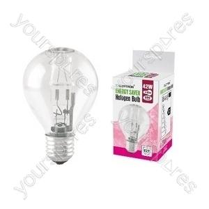 Golf Ball E27 42w 240v Halogen Incandescent Bulb