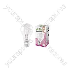 GLS B22 18w 240v Halogen Incandescent Bulb