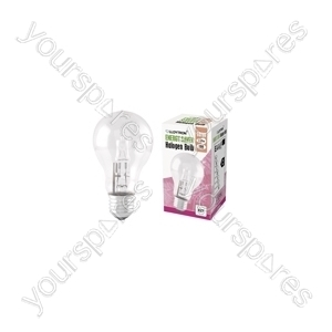 GLS E27 18w 240v Halogen Incandescent Bulb