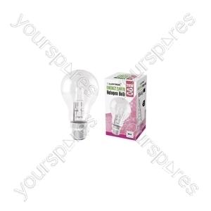 GLS B22 28w 240v Halogen Incandescent Bulb