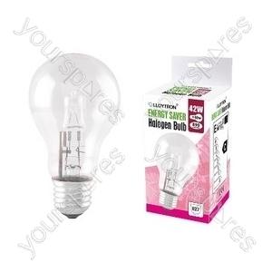 GLS E27 42w 240v Halogen Incandescent Bulb