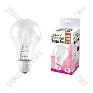GLS E27 52w 240v Halogen Incandescent Bulb