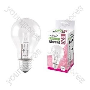 GLS E27 70w 240v Halogen Incandescent Bulb