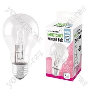 GLS E27 105w 240v Halogen Incandescent Bulb