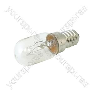 Oven Bulb E14 15w 240v High Temp (Oven Light) - 1pk