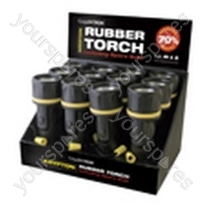 2xD Rubber Torch Counter Display