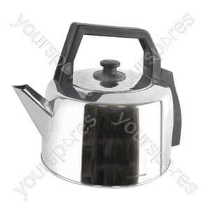 3.5Ltr 2.2Kw Traditional Corded Kettle - Polished Steel