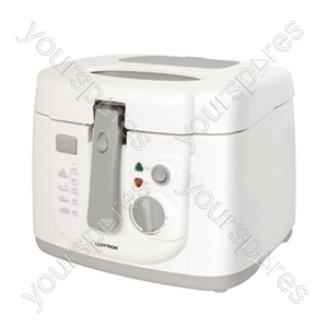 KitchenPerfected 2.5ltr Family Deep Fryer - White