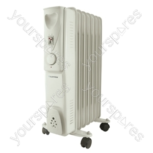 STAYWARM 1500w 7 Fin Oil Radiator - Grey