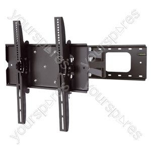 Full Motion TV Wall Mount - Black (37-90'')