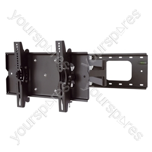 Full Motion TV Wall Mount - Black (23-46'')