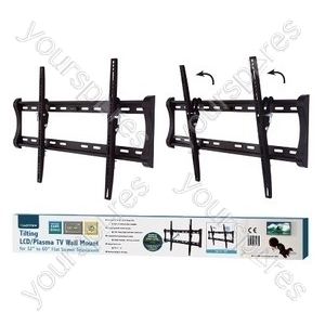 Tilting TV Wall Mount - Black (37-90'')