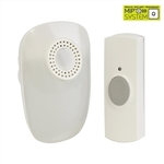 MiP Hearing Impaired Plug-In Door Chime - White