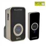 MiP Digital MP3 Plug-In Door Chime - Black