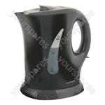 KitchenPerfected 900w 1.0Ltr Cordless Kettle - Black