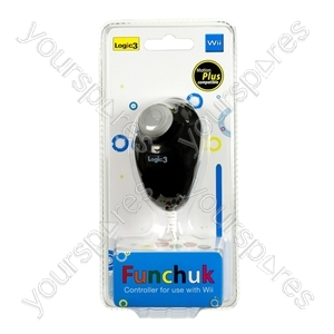 Wii FunChuk - Motion Plus - Black