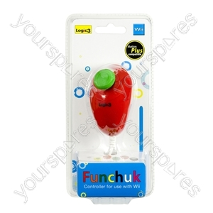 Wii FunChuk - Motion Plus - Red