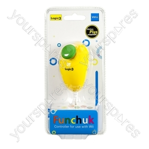 Wii FunChuk - Motion Plus - Yellow