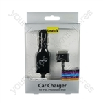 iPad/iphone/ipod Car Charger - Black