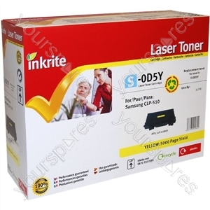 Inkrite Laser Toner Cartridge compatible with Samsung CLP 510 Yellow