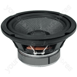 HiFi Woofer with Twin Coil - Hi-fi Bass Speaker And Subwoofer, 2 x 60 w, 2 x 8 ω