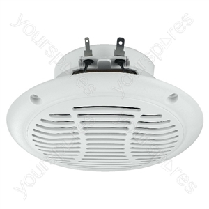Marine Loudspeaker - Weatherproof Flush-mount Speakers, 15 w<sub></sub>, 4 ω, Heat-resistant Up To 120 °c.