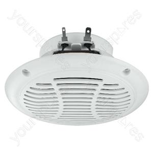 Marine Loudspeaker - Weatherproof Flush-mount Speakers, 15w<sub></sub>, 4ω, Heat-resistant Up To 120°c.