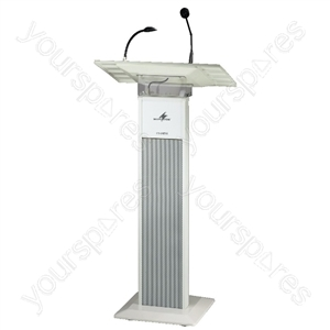 Amplifier System - Lectern With Integrated Wireless Amplifier System
