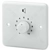 PA Attenuator, 100W - Wall-mounted Pa Volume Controls