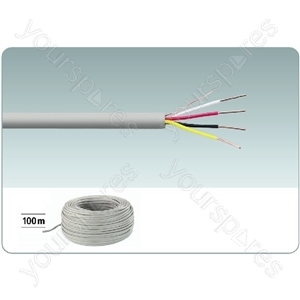 Telephone Cable 2x2x0.6, 100m - Signal Cables