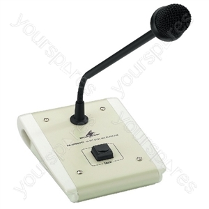 Desk Mike - Pa Desktop Microphone (push-to-talk)