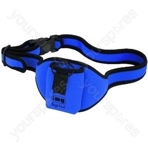 Waistband Bag - Belt Bag, Blue