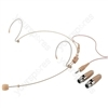 Headworn Microphone - A Series Of Headband Microphones And Earband Microphones For Universal Applications, Beige Version For Adapter Systems.