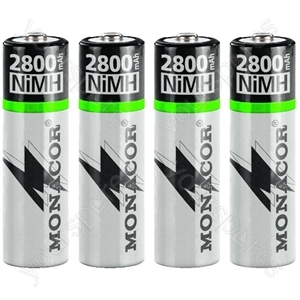 NIMH Accu Set AA - Nimh Rechargeable Batteries, Aa size, Set Of 4