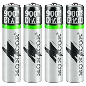 NIMH Accu Set AAA - Nimh Rechargeable Batteries, Aaa Size, Set Of 4