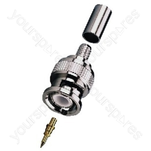 BNC Plug - Bnc Crimp Plugs, 50 ω