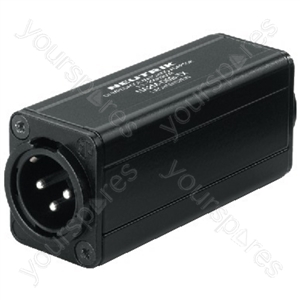 Adaptor - Neutrik Xlr/rca Balancing Adapter/ground Isolator