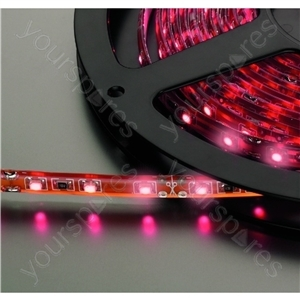 Flexible LED Strip - Flexible Led Strips,  dc Current  12 v,<br>moisture-proof Version