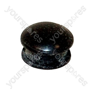 Rubber Cap Dark Brown