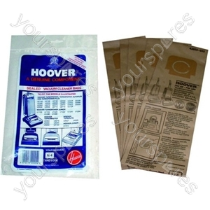 Hoover High Filtration Vacuum Bags (H4)