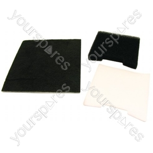 Hoover Standard Vacuum Cleaner Filter Kit (U18)