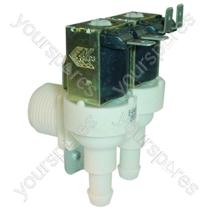 Hoover Washing Machine Cold Water Inlet Solenoid Double Valve