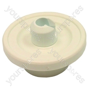 Candy Dishwasher White Lower Basket Wheel