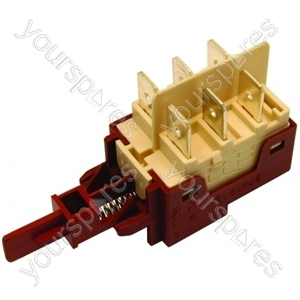 Candy Dishwasher/Washing Machine Bipolar Switch Assembly