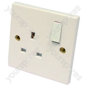 Switched Socket 1 Gang 13 Amp